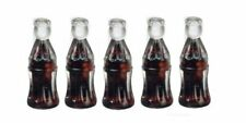 Miniature Dollhouse Set of 5 Cola Soda Pop 1:12 Scale New