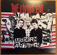 "THE LIVING END ""modern Artillery"" Vinyl. 1st Pressing Mint Condition Rare Item."