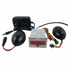 Digital Red LED People Counter AC100-240V +Photoelectric Infrared Detector store