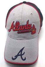 ATLANTA BRAVES gray adjustable cap / hat