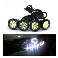 3000K White 12V 15W Eagle Eye LED Daytime Running Backup Light Motor Car Lamp