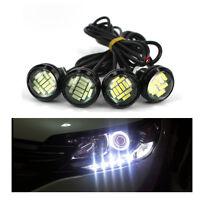 3000K White 12V 15W Eagle Eye LED Daytime Running Backup Light Motor Car Lamp