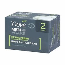 Dove Men + Care Body and Face Bars Extra Fresh 8.50 oz