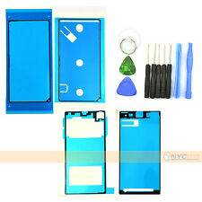 LCD Full Set Battery Back Cover Adhesive For Sony Xperia Z1 C6906 C694 w/ tools