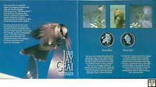 """1995 """"Birds of Canada- 50 Cent Silver 2 Coin Set"""" (OOAK)"""