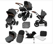 Ickle Bubba Stomp V3 Travel System, Pram Buggy, Car Seat, Carry Cot