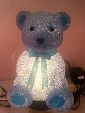 Childrens Bedroom Decor EVA Night Light  Blue Bear HS005