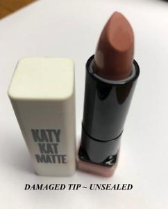 2 pcs COVERGIRL Katy Kat Matte Lipstick KP01 Sphynx *UNSEALED & DAMAGED TIP*