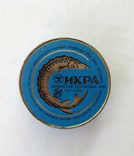 RR! Soviet Black Caviar tin, box Sturgeon CASPIAN Vintage RUSSIAN Original 500 g