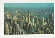 Looking NE From Empire State Building Oberservatory New York USA Postcard 457a