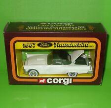 Corgi / 810 1957 Ford Thunderbird in White / Boxed