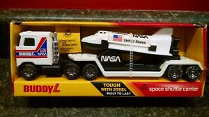 Vintage 1983 Buddy L Brute Vehicle Space Shuttle Carrier Challenger New in Box