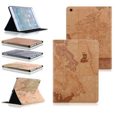 Edles iPad 4 iPad 3 iPad 2 Smart Cover  Case Schutz Hülle Etui Tasche Map