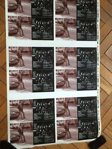 BRUCE SPRINGSTEEN uncut sheet from greatest hits booklet inner pages # 3