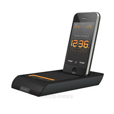 XtremeMac 3 in 1 Microdock Charging Audio Dock With Alarm Clock For iPhone iPod