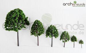 7 x Modell Baum - Laubbäume für Landschaft  Modellbau Modelleisenbahn H0