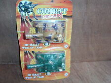 Combat Mission Plastic Wind Up Tank With BB Bullets. New.