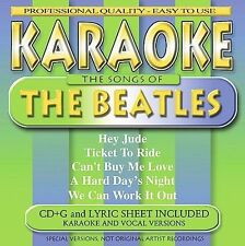 KARAOKE - The Songs of the Beatles (CD, Jul-2001, BCI Music (Brentwood Com.)
