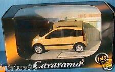 VEHICULE MINIATURE FIAT PANDA 4X4 YELLOW CARARAMA 1/43