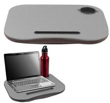 Laptop Buddy Cushion Desk With Pen and Cup Holder, Portable And Convenient Desk