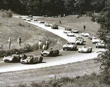 Vintage 8 X 10 1963 Road America June Sprints Start