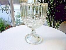 English Hobnail & Panel Buttermilk Goblet c 1900