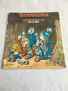 1984 STARRIORS Book Escape to Freedom Odyssey II 2 Vintage