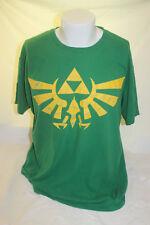 Zelda Skyward Sword Tri Force Official Nintendo Men's Green T Shirt Size 2XL