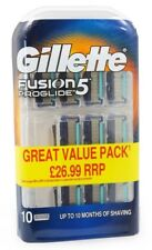 Gillette Fusion 5 Proglide 10-pack free shipping EU worldwide