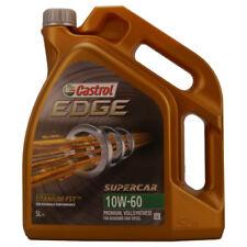 Castrol EDGE Supercar 10W-60 5 litri PER AUTO SPORTIVE E AUTO DA COMPETIZIONE