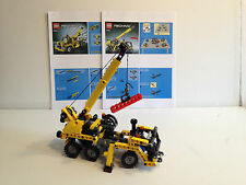 LEGO Technic Mini Mobile Crane 8067! Complete with instructions Reprint!