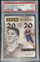 Pop 1!💎2015 Devin Booker PANINI EXCALIBUR GOLD RC #39 8/25 PSA 9 BGS🔥prizm SP