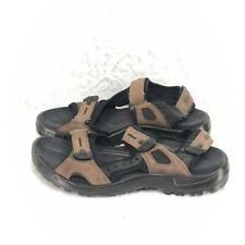 098247eedd1 C13 Ecco Mens Sandals Brown Receptor Technology Size 44   9.5 - 10 Hiking  Sport