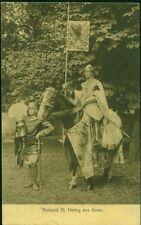 Postkarte.Lustrumfeesten 1911,Reinoud III,Hertog van Gelre,gel.1911,Briefmarke