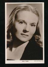 Film Theatre ANN TODD c1920/30s? photo card Sidney Box Picturegoer # W195