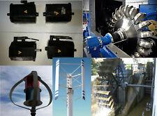 Generatore Eolico Idroelettrico Brushless Neodimio Trifase 3,77 kW Made Germany