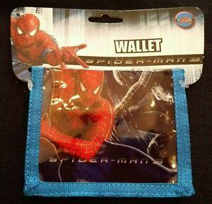 """""""Spider-man 3"""" One Boy's/Kid's Spiderman Bifold Wallet - Limited Supply"""