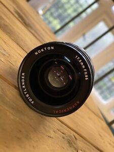 Voigtlander Nokton 17.5-17.5mm F/0.95 Aspherical Lens