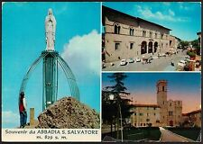 AA2549 Siena - Provincia - Souvenir da Abbadia San Salvatore - Vedute