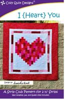 I {Heart} You Quilt Pattern by Cozy Quilt Designs