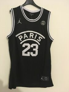 Tank Top NBA Basketball Paris Saint Germain New jersey Michael Jordan Top S/M/L/