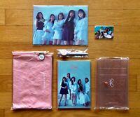 Red Velvet SM Town Fanclub Reveluv Official Photo Book, Pouch Set, Mini Poster