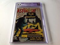 TALES TO ASTONISH 2 CGC 3.5 MARTIAN FLYING SAUCER STEVE DITKO ATLAS COMICS