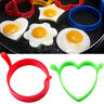 1pc/2 pcs Cuisine outils Silicone Fried Fry Friteuse Four Oeuf Anneau Mould Mold