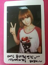AFTER SCHOOL JUNG-A JUNGA VIRGIN Official Photo Card Korea Press Genuine RARE