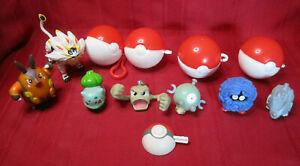 12pc Lot Pokemon Toys Figures from Burger King & McDonalds Magnemite Geodude