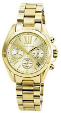 Michael Kors Women's Bradshaw Chrono 100m Gold Tone Stainless Steel Watch MK5798