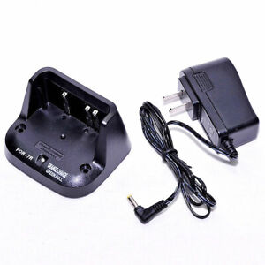 for Yaesu VX5R VX-6R VX-6E VX-7R VX-7E VXA710 Radio Desktop Battery Charger