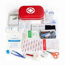 First Aid Kit Bag All Purpose Emergency Survival Home Car Medical SOS Bag