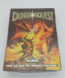 DUNGEONQUEST BOARD GAME (GAMES WORKSHOP) 1987 Spares parts
